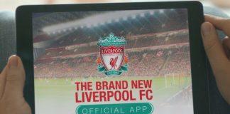 Liverpool FC App For Smarphone