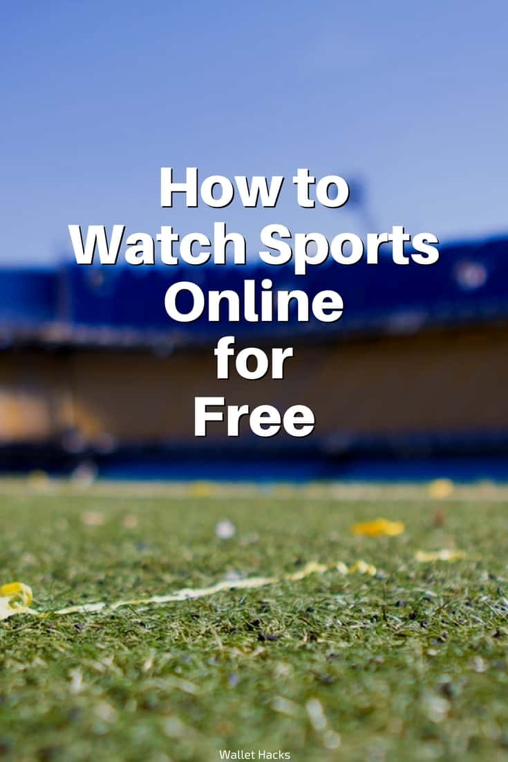 Watching sports events on the go