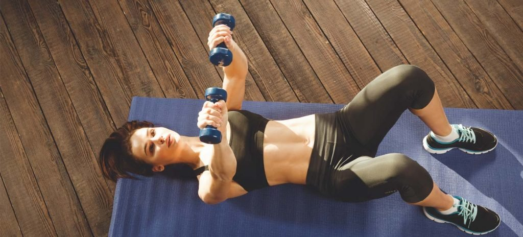 Learn How To Do Chest Exercises at Home