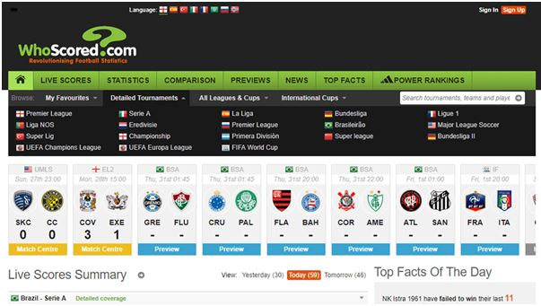 Discover the Top Sites for Sports Stats