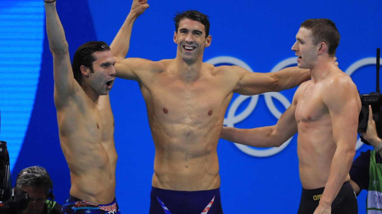 See the Career Trajectory That Carried Michael Phelps to the Podium as One of the Best Swimmers Ever
